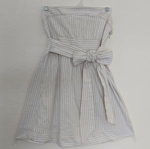 Forever 21 strapless bow dress